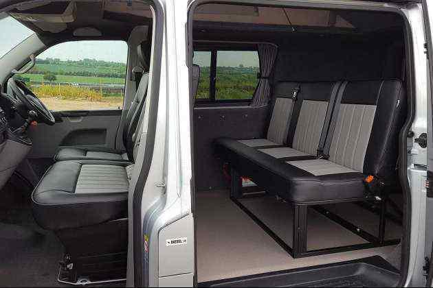 Ford Transit Conversion Van >> Rusty Lee Beds | Custom Camper Solutions
