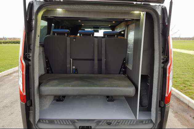 Ford Transit Conversion Custom Camper Solutions